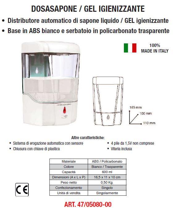 Dosasapone GEL manuale