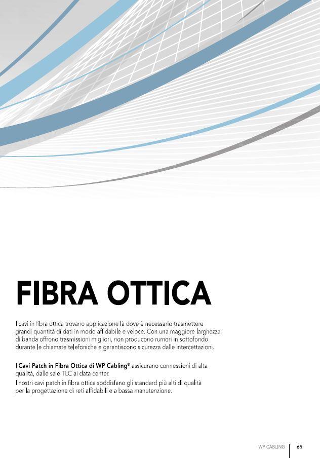 Copertina Fibra Ottica