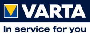 Logo Varta e slogan ufficiale