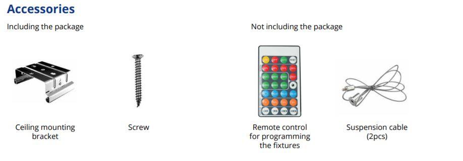 Mariner premium Sensor Accessori Confezione
